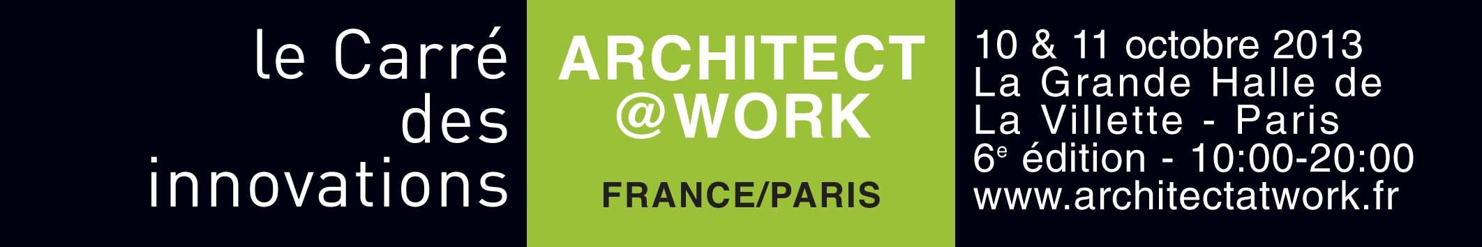 logo architect@work paris