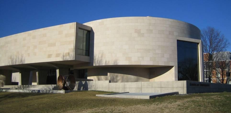 Du Massangis au Katzen Arts Center Washington vue1