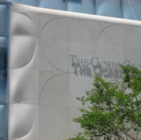 facade en pierre de massangis The Gores Group USA