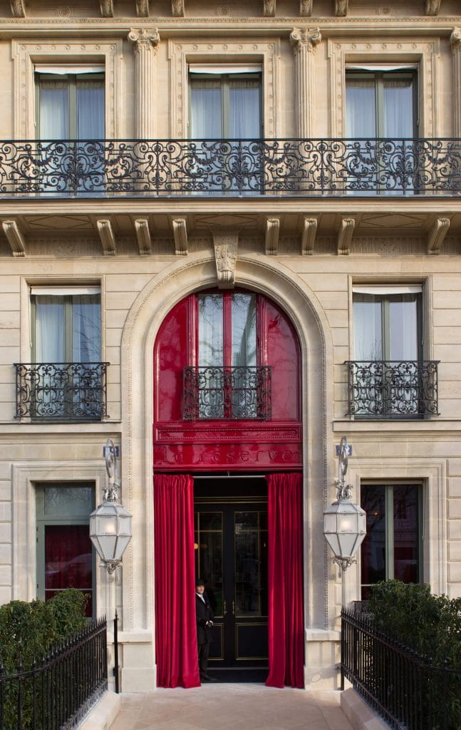 01 hotel la reserve paris