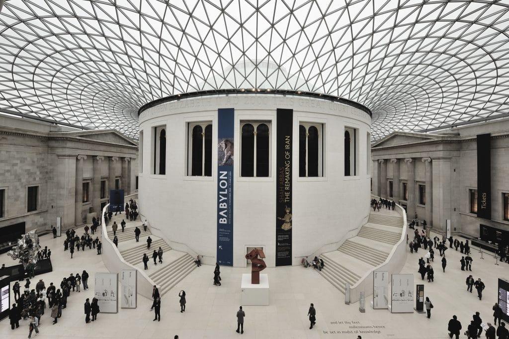 British Museum Dome 2