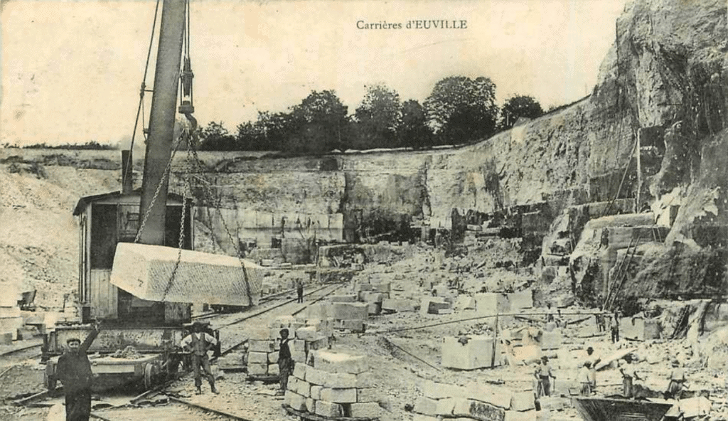 carriere euville carte postale ancienne