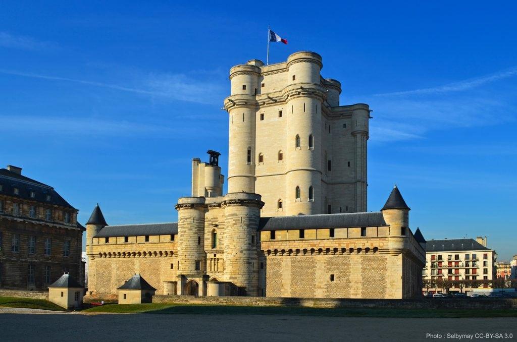 00 Chateau Vincennes monument historique renovation