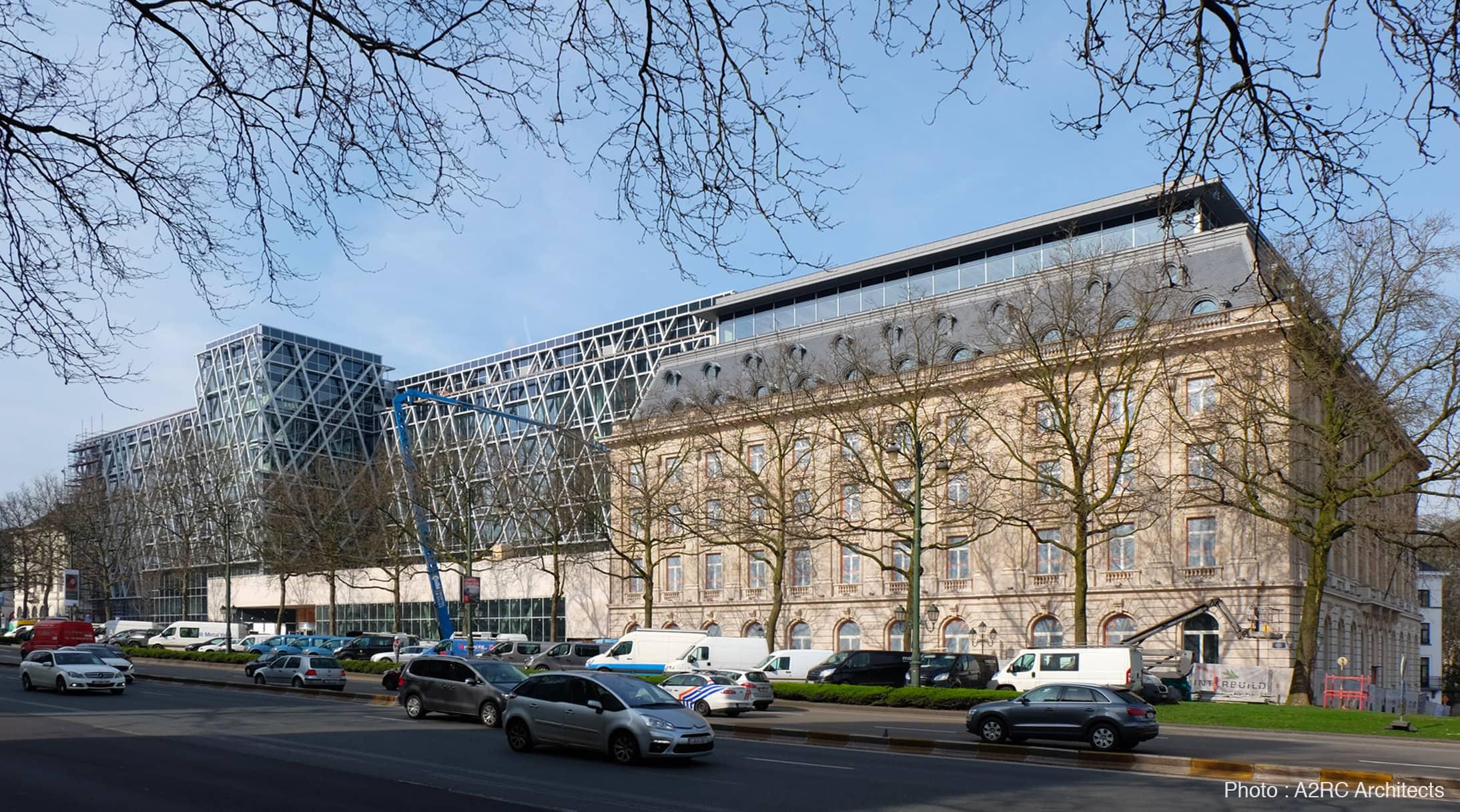 01 AXA HQ Belgique pierre de Massangis cA2RCARCHITECTS