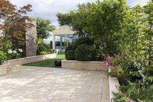 ROCAMAT Jardin prive en pierre euville paysagiste didier danet