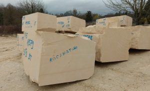 blocs carriere de Bonnillet Tervoux ROCAMAT