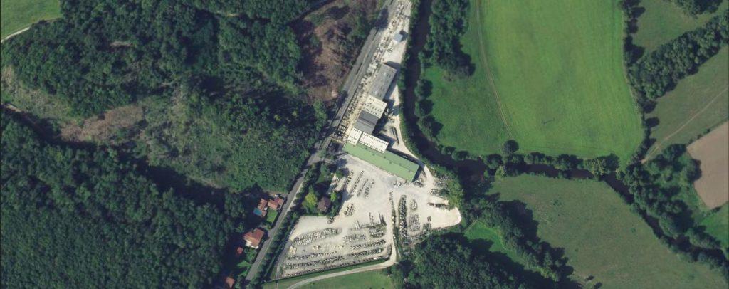 usine site transformation pierre vilhonneur aerial credits IGN2019