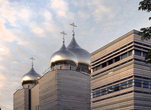09 cathedrale sainte trinite facade en pierre naturelle ROCAMAT ©AUGUSTO DA SILVA AGENCE GRAPHIX
