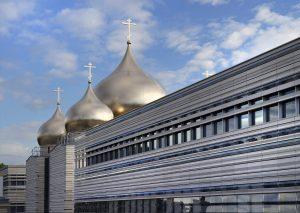 10 cathedrale sainte trinite facade en pierre naturelle ROCAMAT ©AUGUSTO DA SILVA AGENCE GRAPHIX
