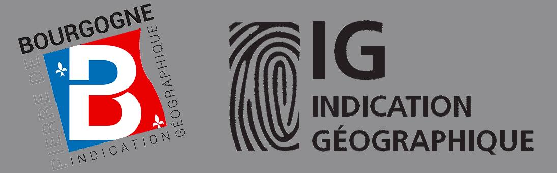 logos pierre de bourgogne ig indication geographique transaprent