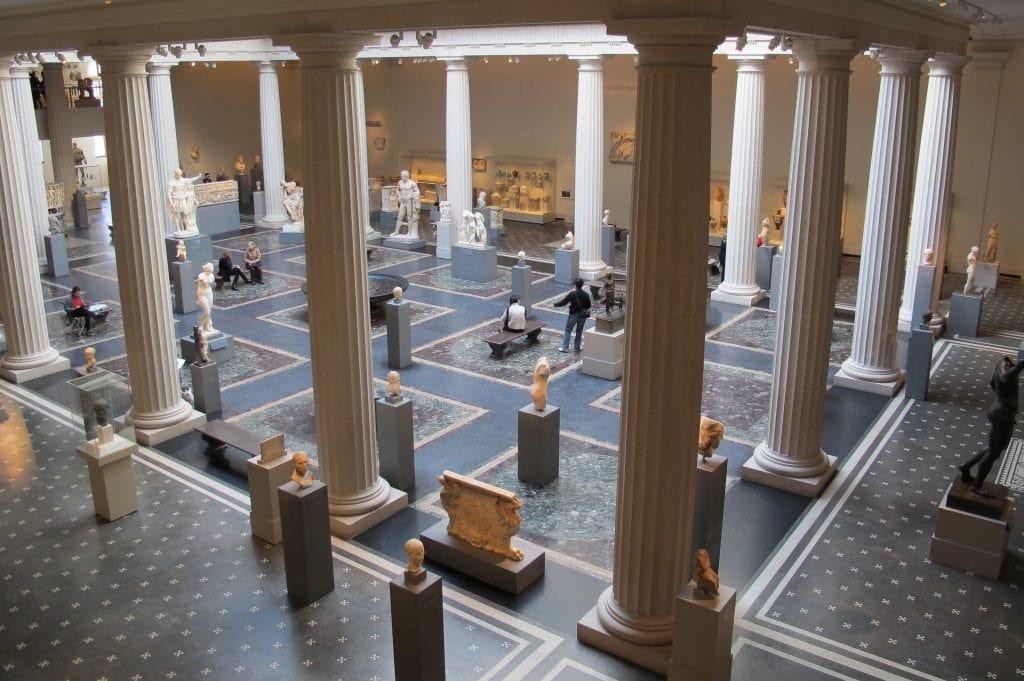 004 metropolitan museum Met cortile dellarte romana