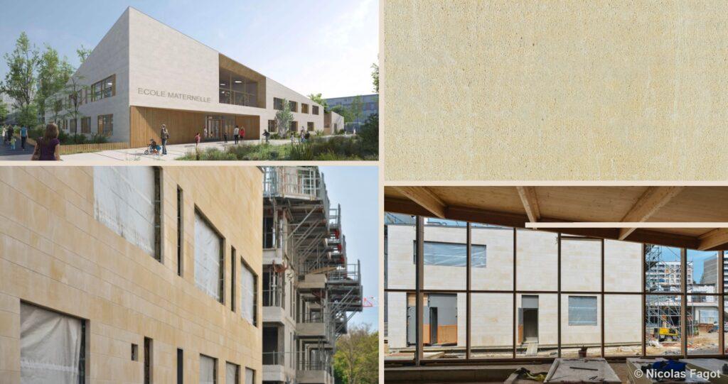 Construction ecole ludotheque la ruche meudon pierre de sebastopol credits NicolasFagot