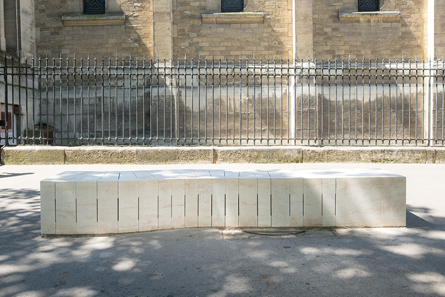 ROCAMAT Banc Faire pierre de Pouillenay