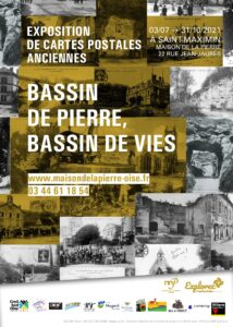 affiche expo cartes postales VDEF